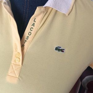 Lacoste Tops - Lacoste beautiful yellow size L top